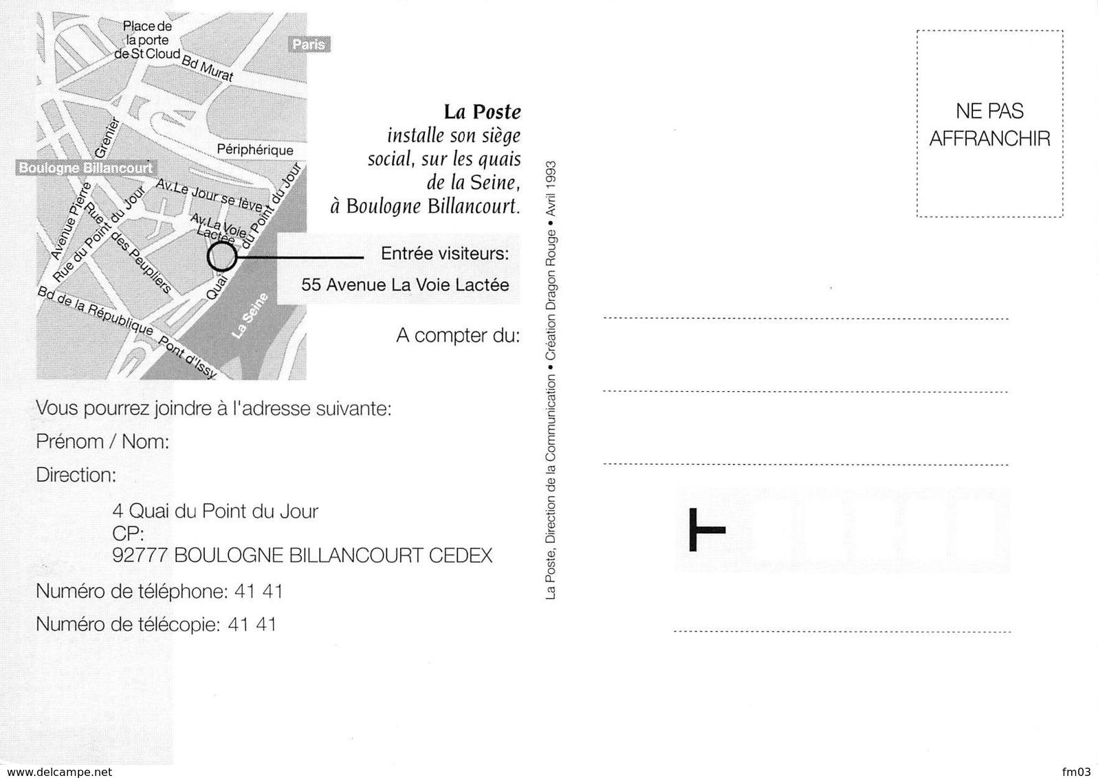 Boulogne Billancourt La Poste - Boulogne Billancourt