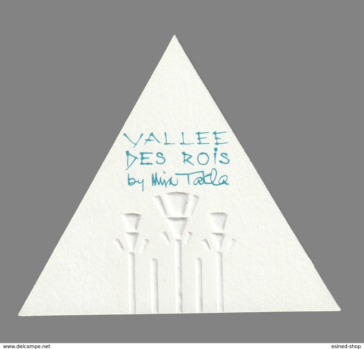 Carte Publicitaire - Advertising Card  -  Vallée De SRois De Mira Takla - Perfume Cards