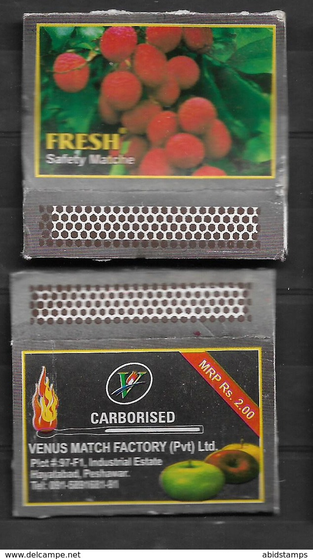 PAKISTAN MATCHBOX FRESH FRUITS - Matchboxes