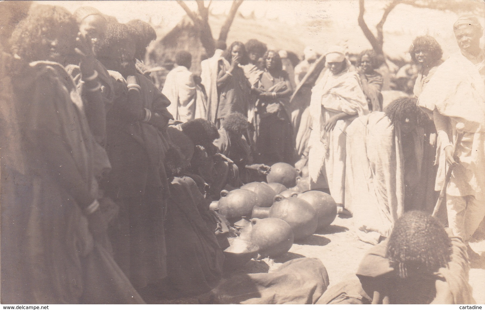CPA Ethiopie - Addis Abeba - Carte Photo - 1927 - Äthiopien