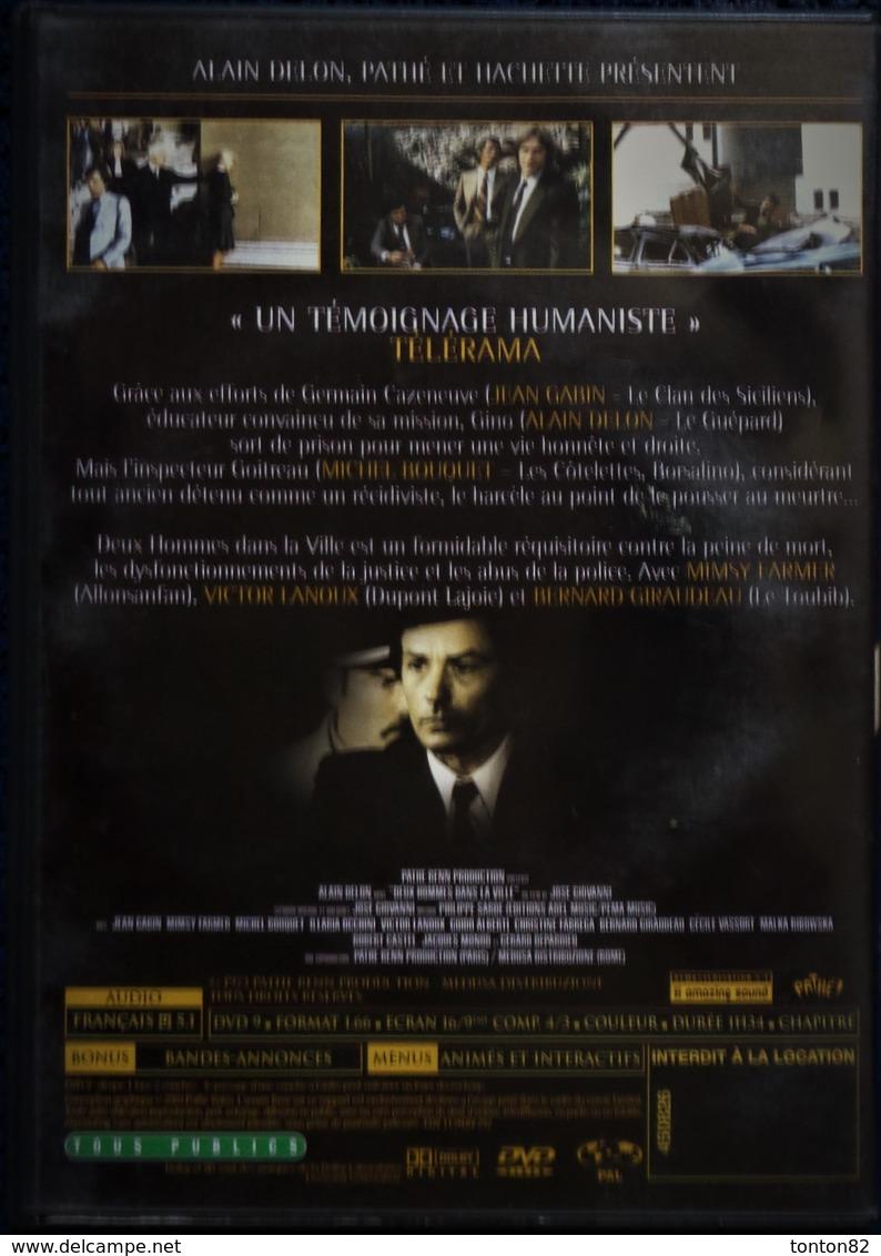 Deux Hommes Dans La Ville - Film De José Giovanni - Gabin / Delon  . - Policiers
