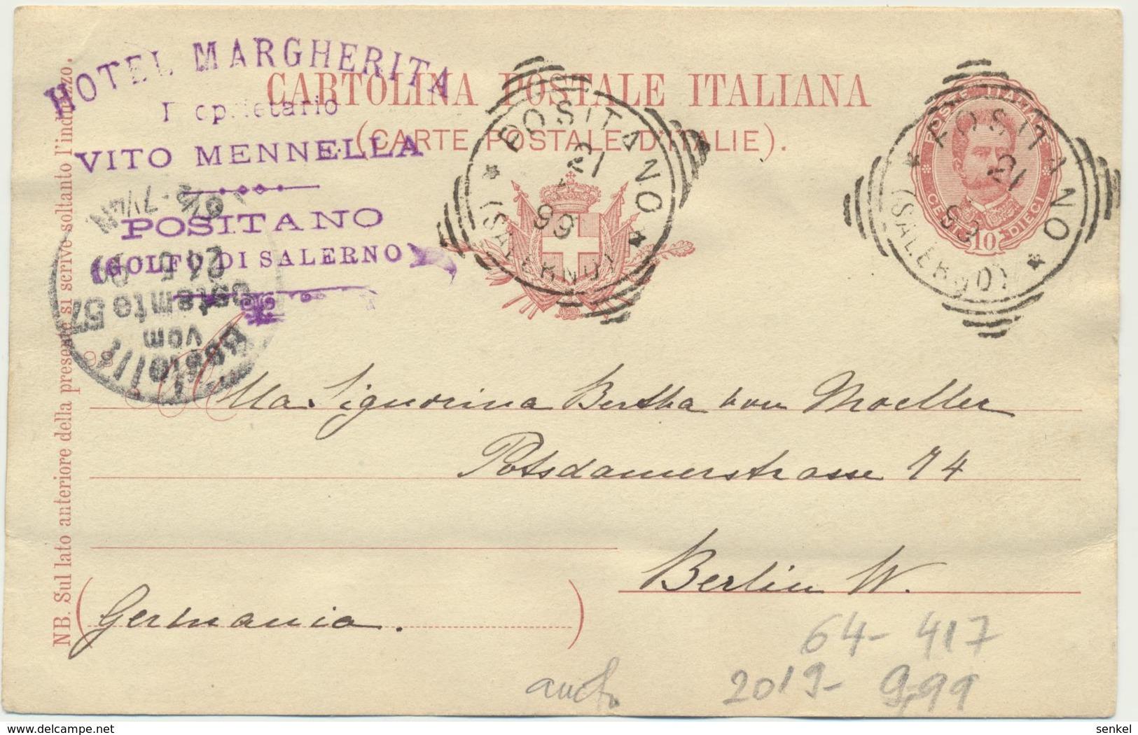 64-417 Italia Italy Positano - Italy