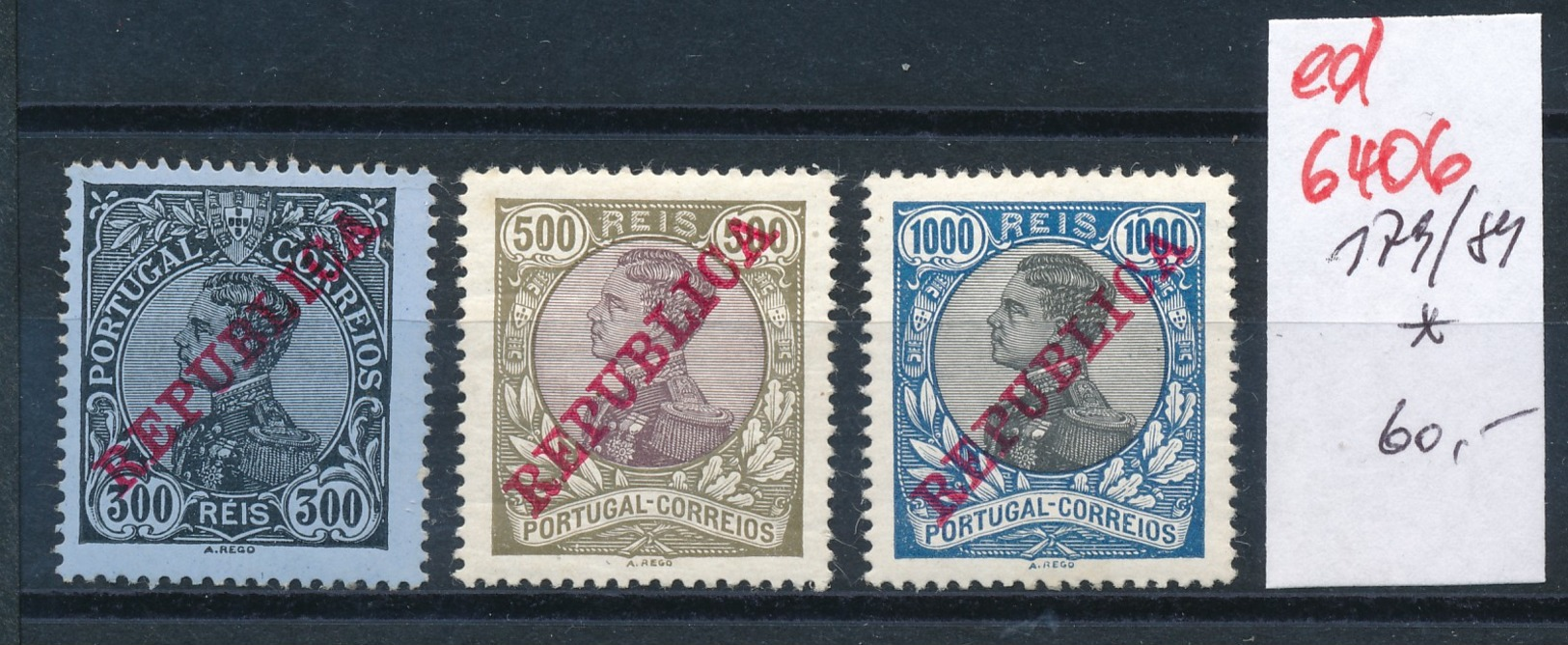 Portugal Nr. 179-81 * (ed6406  ) Siehe Scan - Portugal