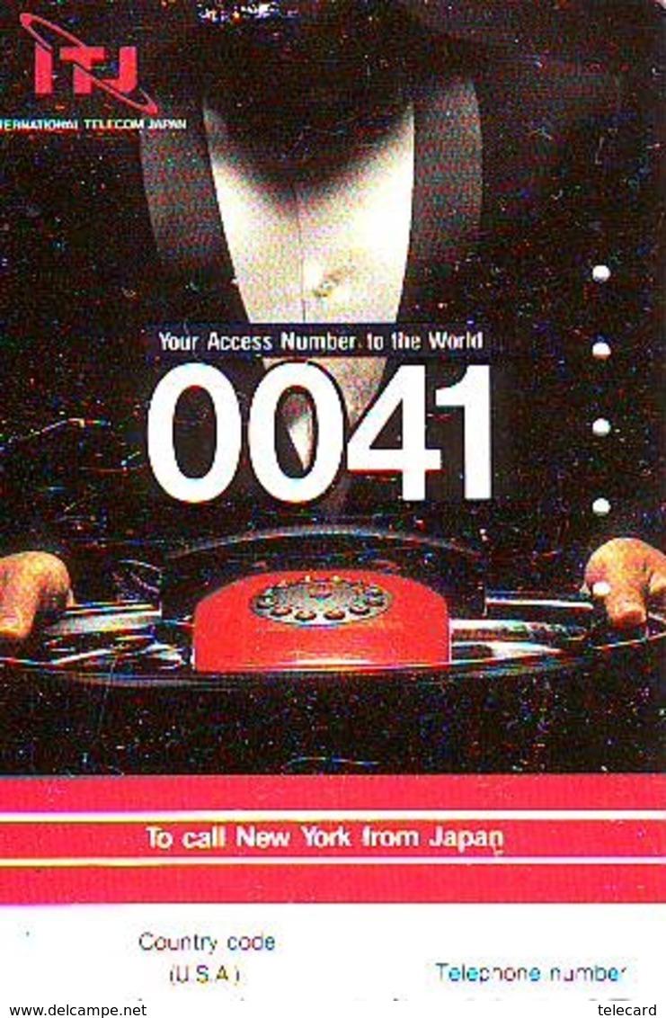 Télécarte JAPON (909) IJT  * New York USA * PHONECARD JAPAN *  TELEFONKARTE - Paysages