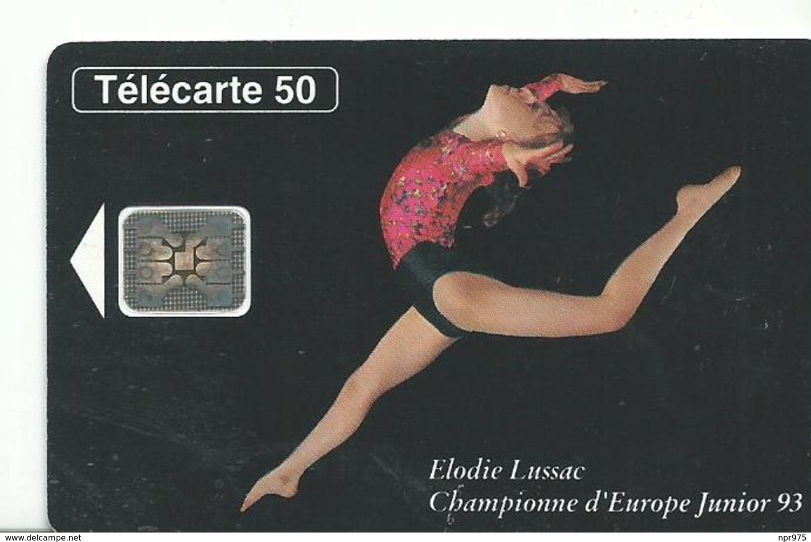 Telecarte    Championnats Du Monde 1992 Gymnastique - Jeux