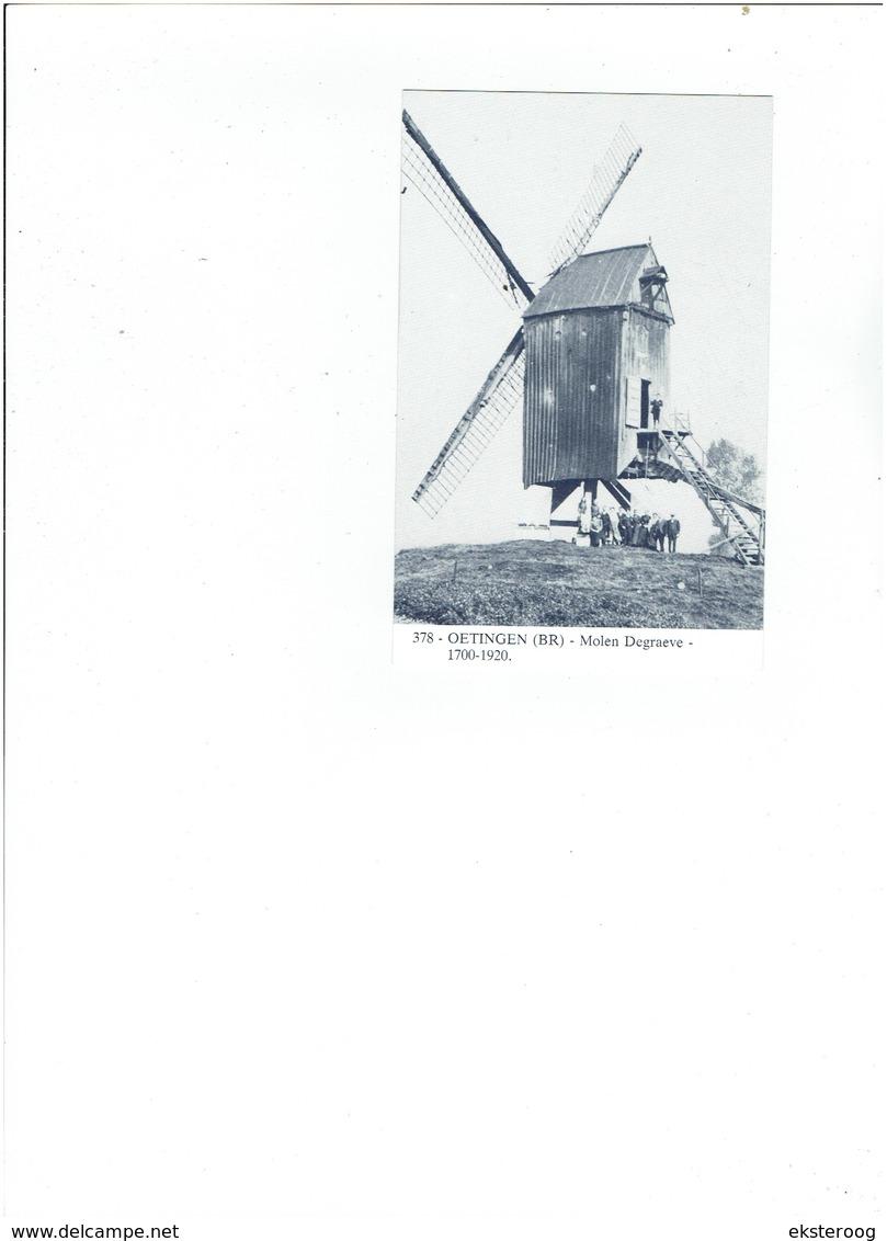 Oetingen 378 - Molen Degraeve - 1700-1920 - Lennik