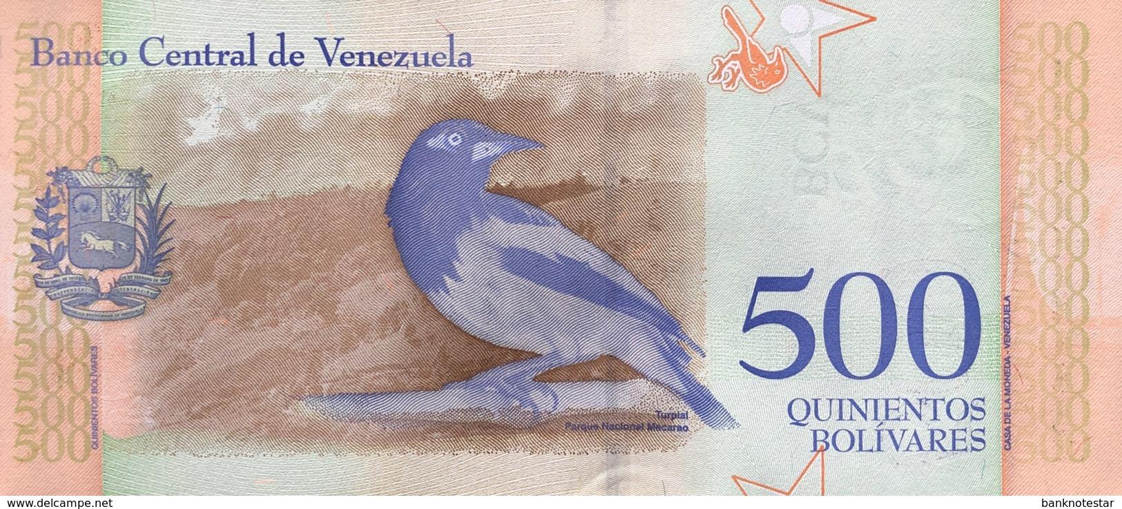 Venezuela 500 Bolivares Soberano, P-New/108 (15.2.2018) - UNC - Venezuela