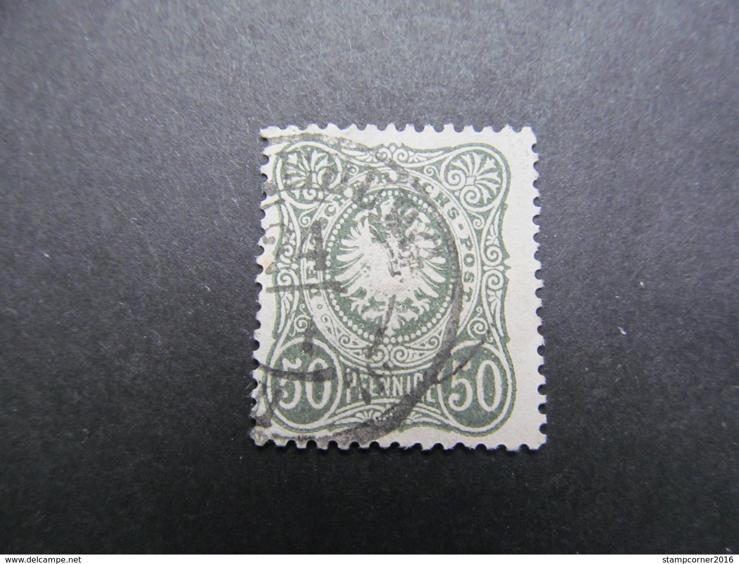 DR Nr.  38a, 1877, Reichadler Im Oval, Gestempelt, BPP Geprüft, BS - Gebraucht