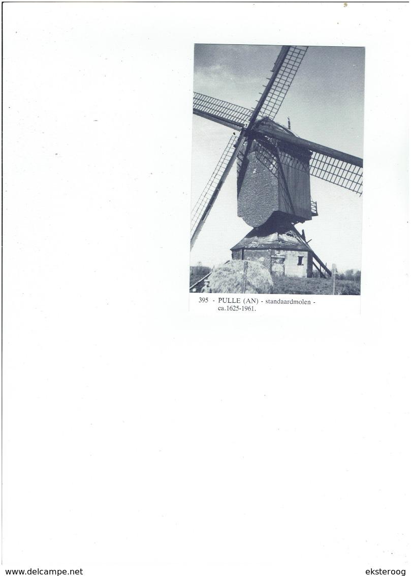 Pulle 395 - Standaardmolen - 1625-1961 - Zandhoven