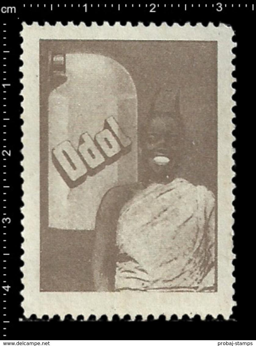 German Poster Stamp, Stamps, Reklamemarke, Cinderellas, Black Americana, Dentist, Mundwasser, Zahnarzt, Tooth, Zähne - Cinderellas