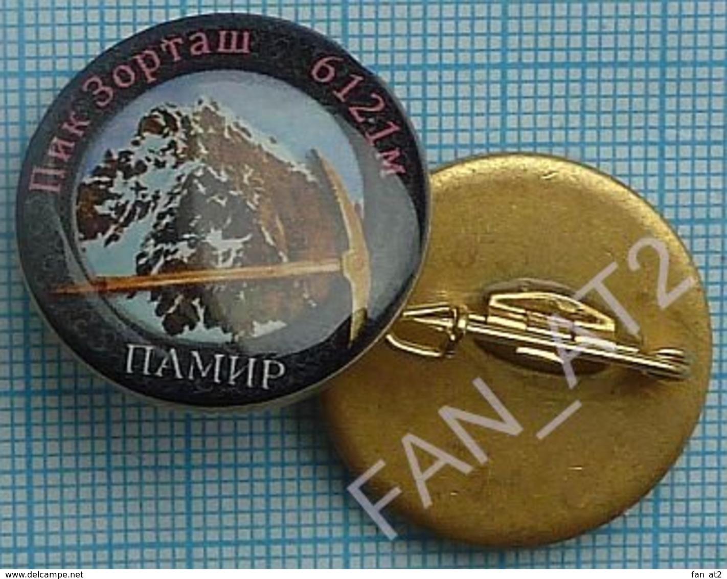 UKRAINE / Badge / Alpinism Tourism Mountaineering Tourism. Pamir.  Zortaş Peak 2010s - Alpinism, Mountaineering