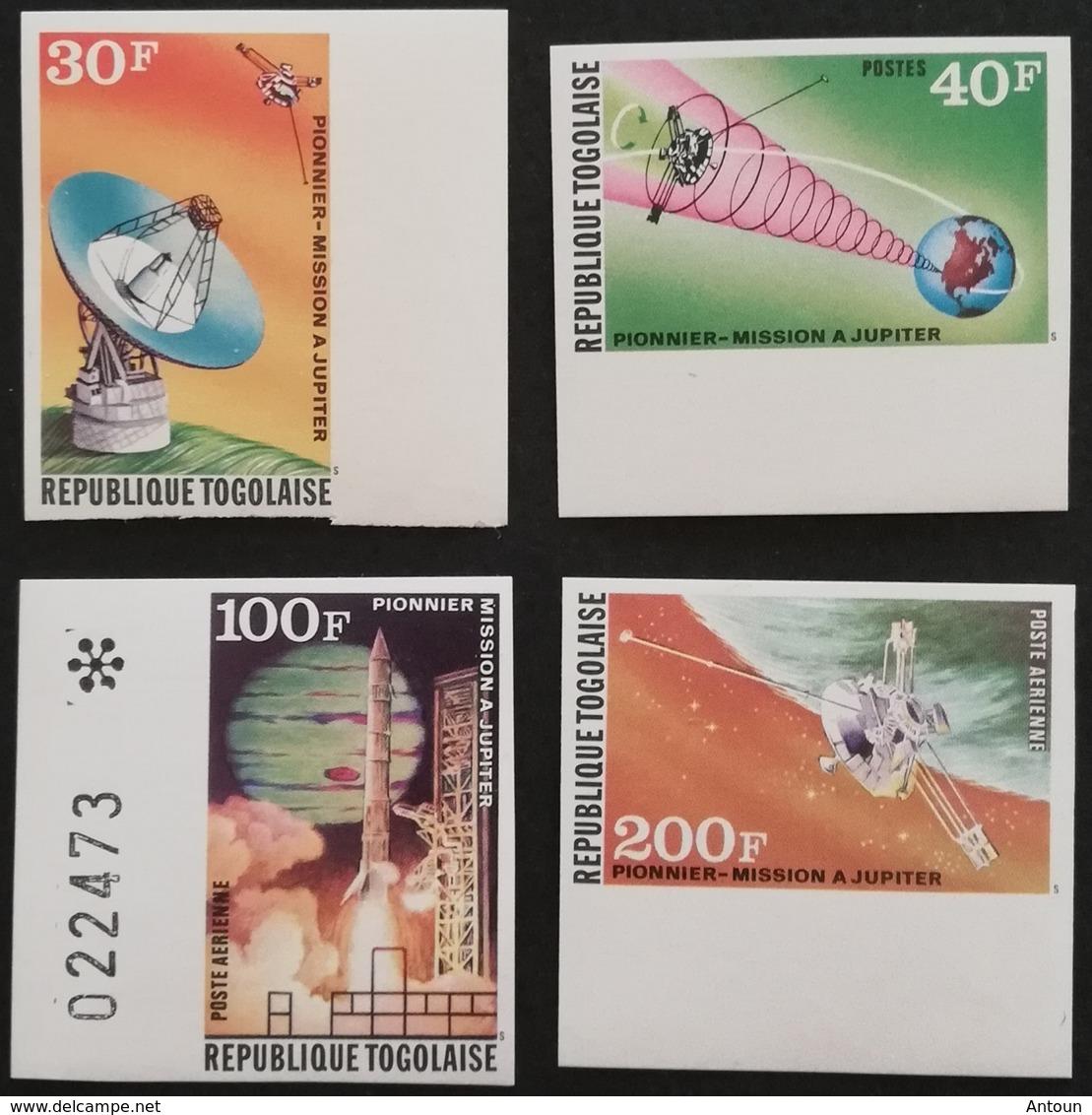 TOGO 1974 US Jupiter Space Probe  IMPERF - Togo (1960-...)
