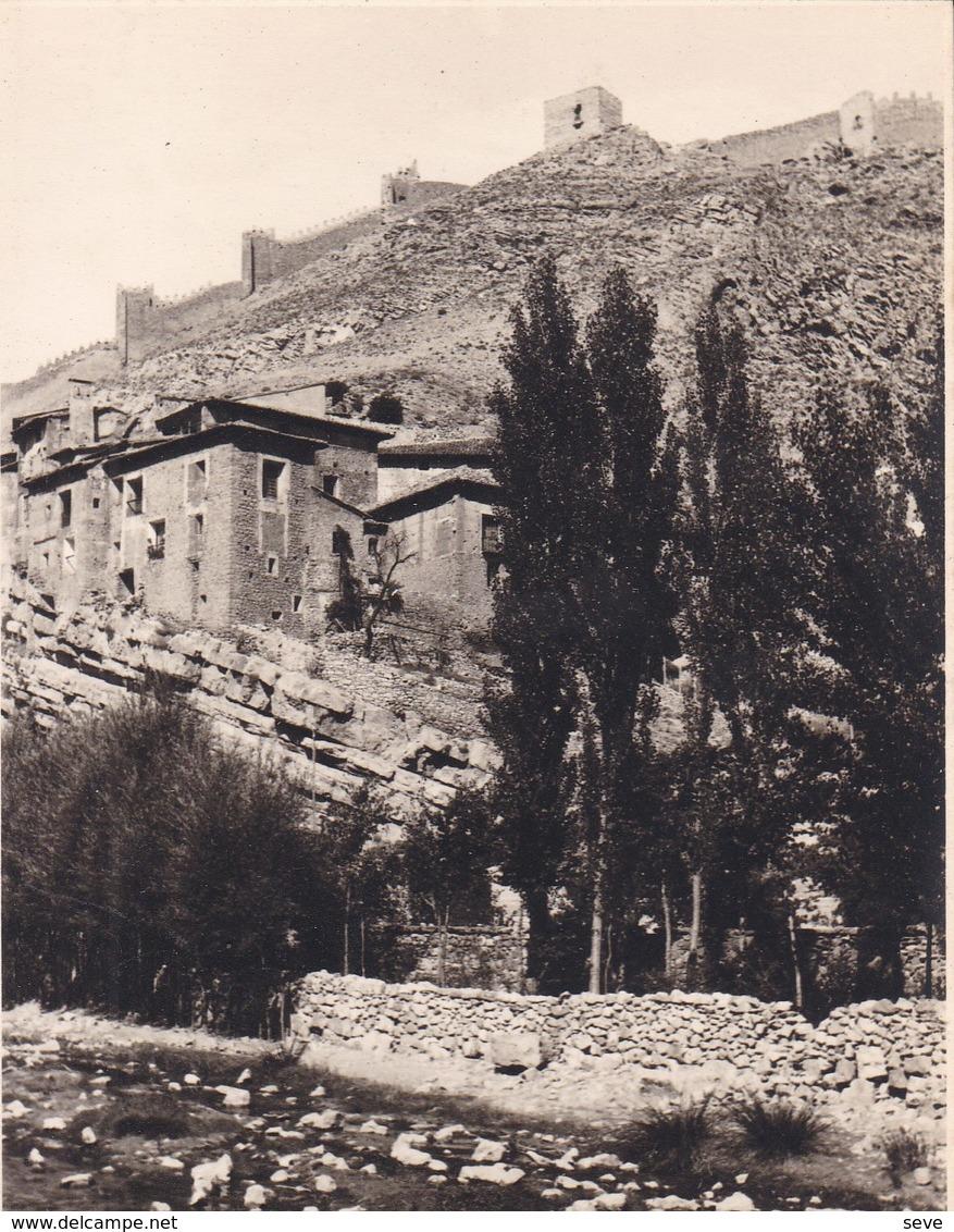 ALbARRACIN  ESPAGNE 1930 Photo Amateur Format Environ 7,5 X 5,5 Cm - Places
