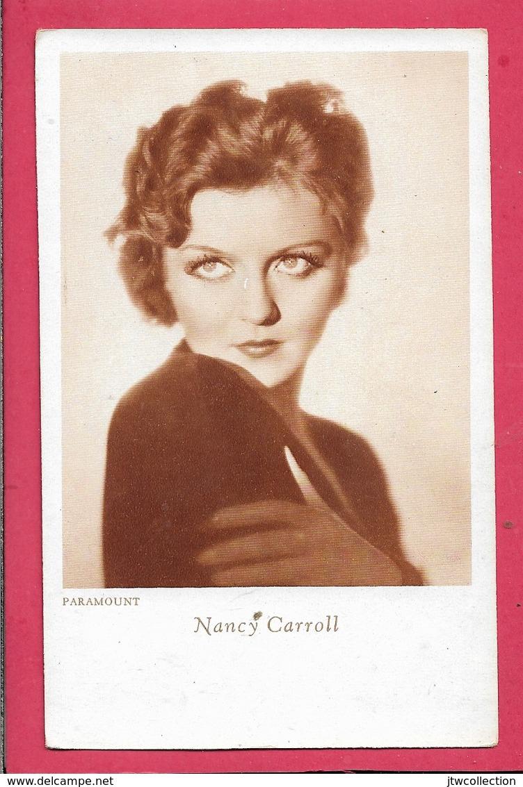 Nancy Carroll  - Piccolo Formato - Non Viaggiata - Attori