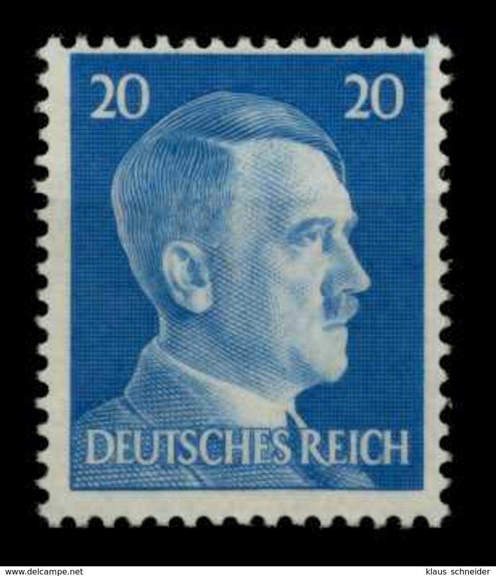 3. REICH 1941 Nr 791vz Postfrisch Gepr. X6D5CF6 - Deutschland