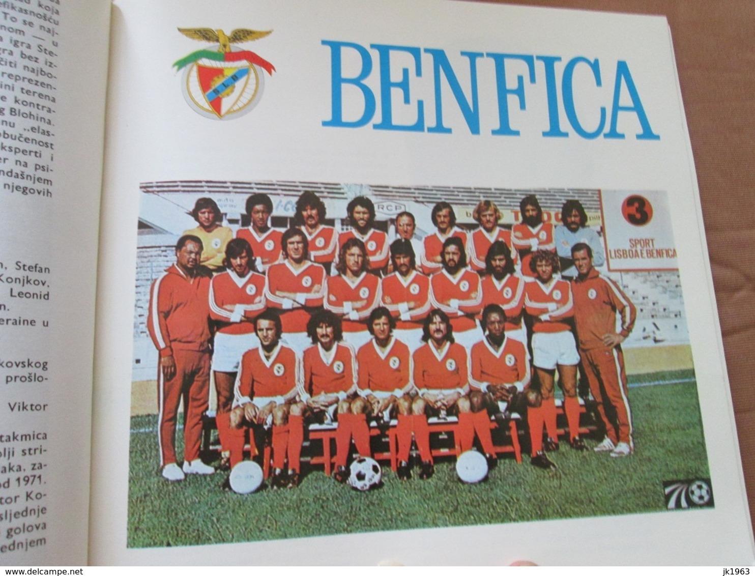 FOOTBOL, HAJDUK KA EVROPI,  XXI European Championship 1975/76 - Libros