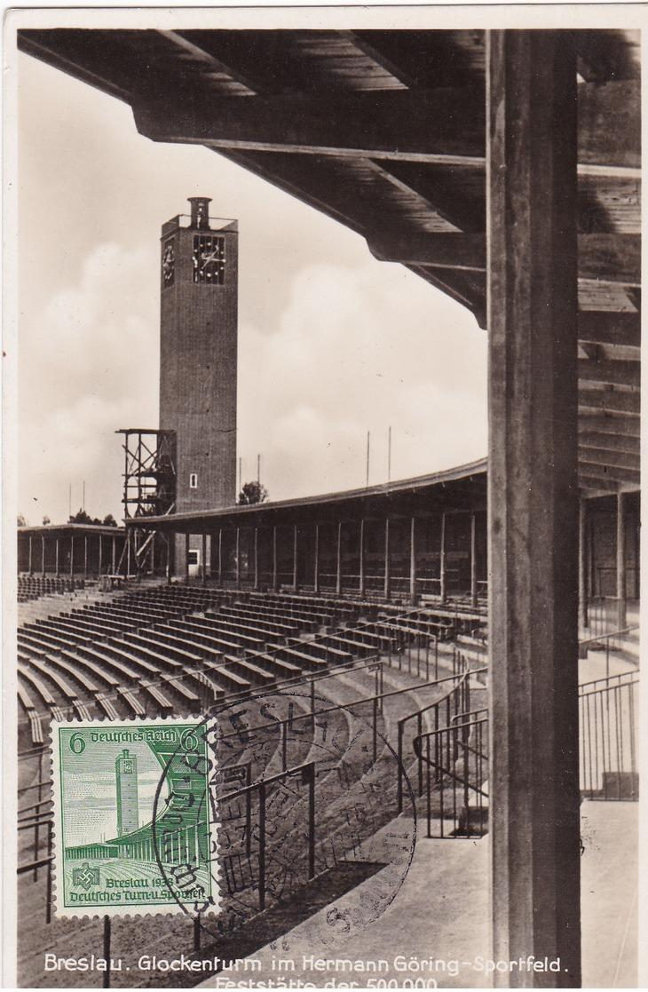 16 éme Fête Sportive Et Gymmastique De Breslau (stade Herman Goering) - Allemagne