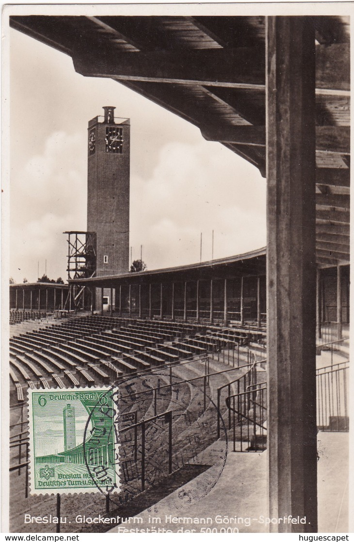 16 éme Fête Sportive Et Gymmastique De Breslau (stade Herman Goering) - Germania