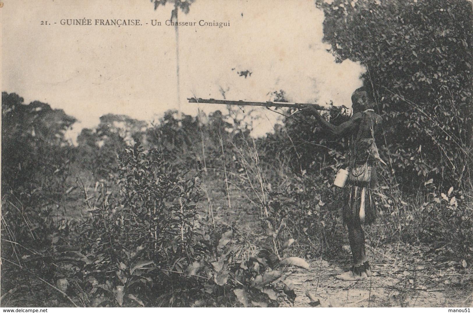 GUINEE Française - Un Chasseur Coniagui - Französisch-Guinea