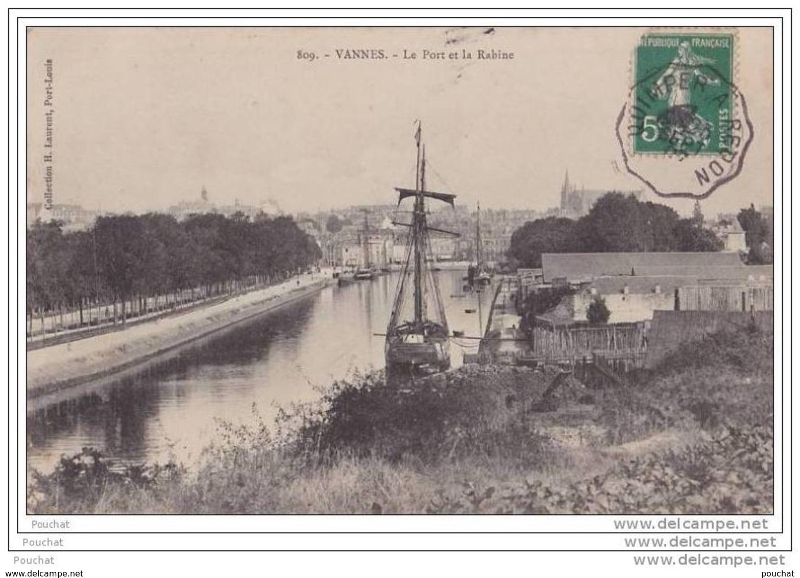 56) Vannes - Le Port Et La Rabine - Vannes