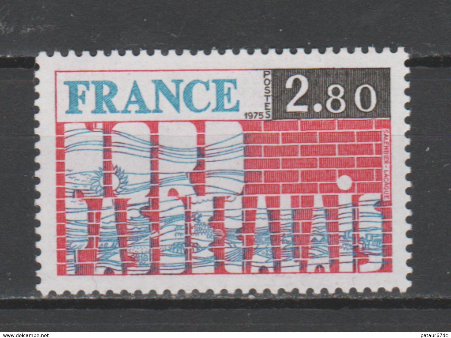 """FRANCE / 1975 / Y&T N° 1852 ** : """"Régions"""" (Nord - Pas-de-Calais) - Gomme D'origine Intacte - France"""