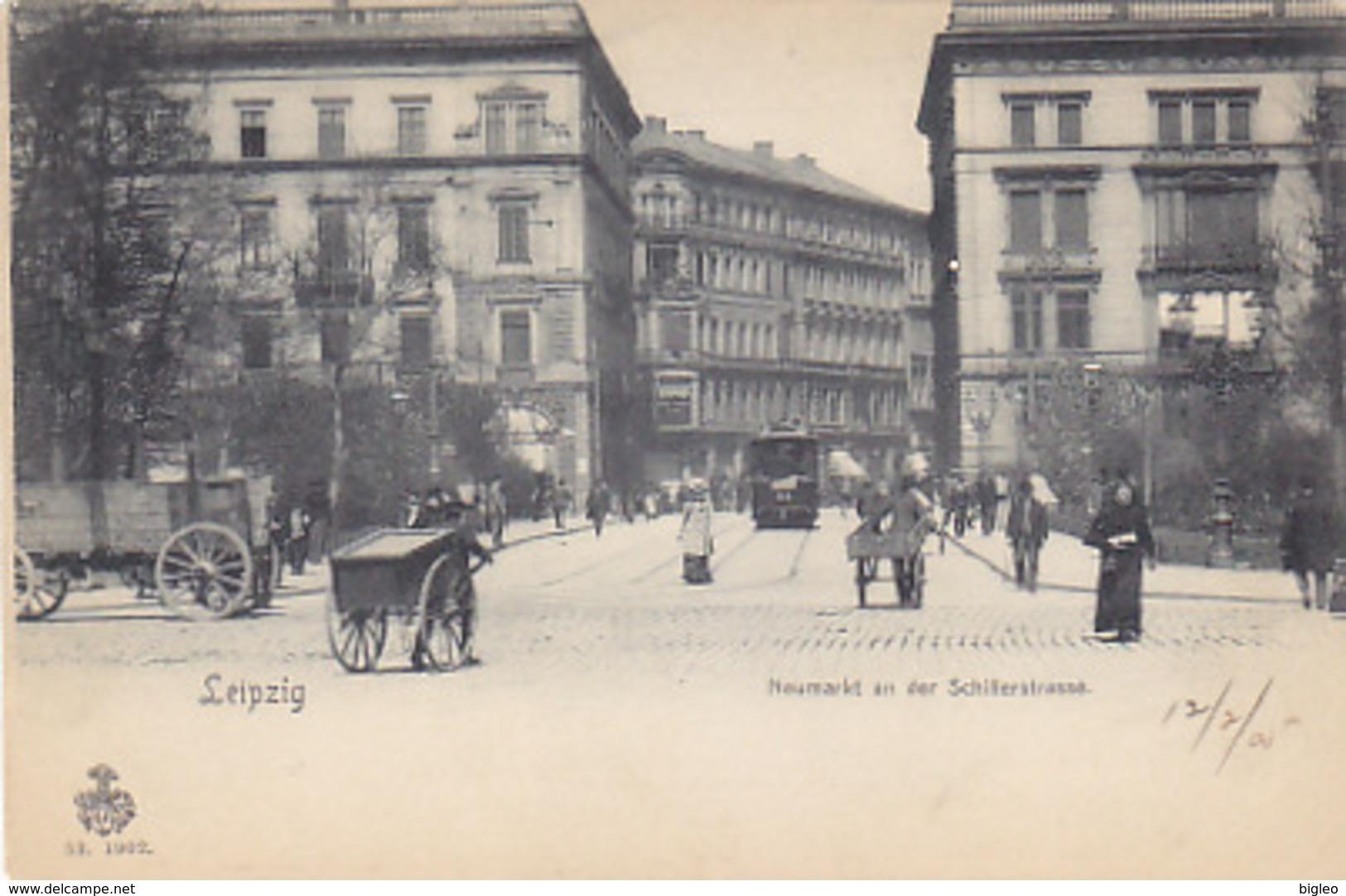 Leipzig - Neumarkt An Der Schillerstrasse           (A-86-160907) - Leipzig