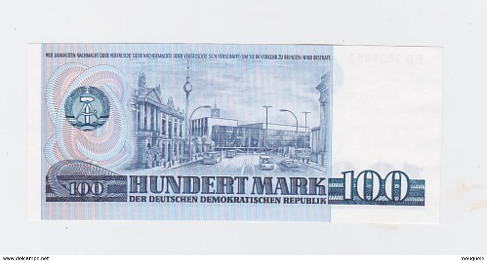 Billet  DDR De 100 Mark  De 1985  Pick 31 Neuf - 200 Deutsche Mark