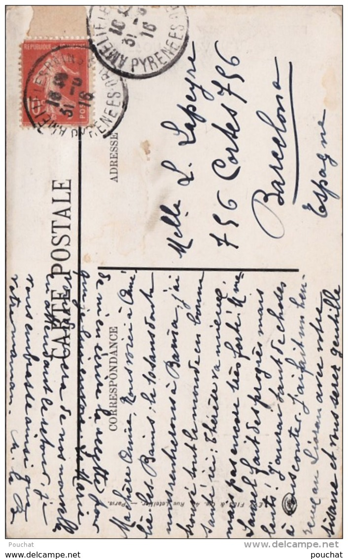 F7- MILITARIA - LA CROISADE DES FEMMES FRANCAISES  PARIS - CHIFFON DE PAPIER - (2 SCANS) - Guerre 1914-18
