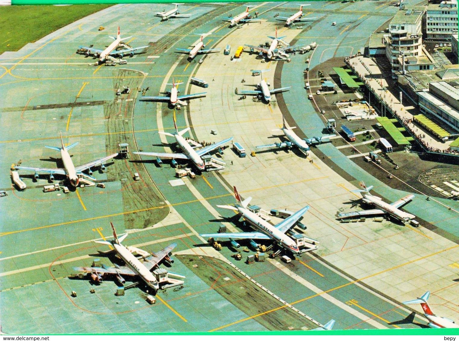AEREO. AEROPORTO. KLOTEN.  743 - 1946-....: Era Moderna