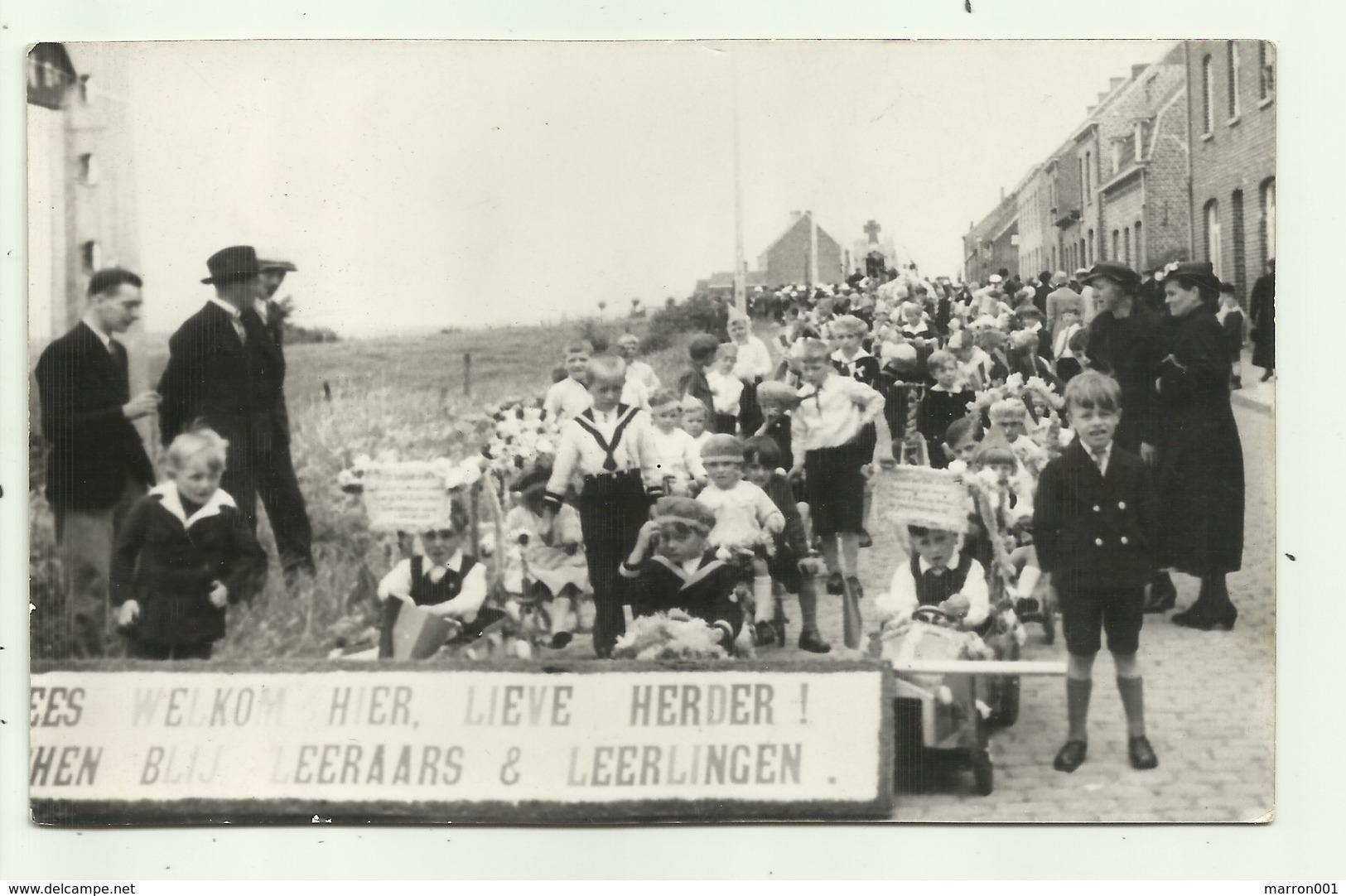 Neuve Eglise - Nieuwkerke - Fotokaart Welkom Lieve Herder - 11 Julie 1937 - Heuvelland