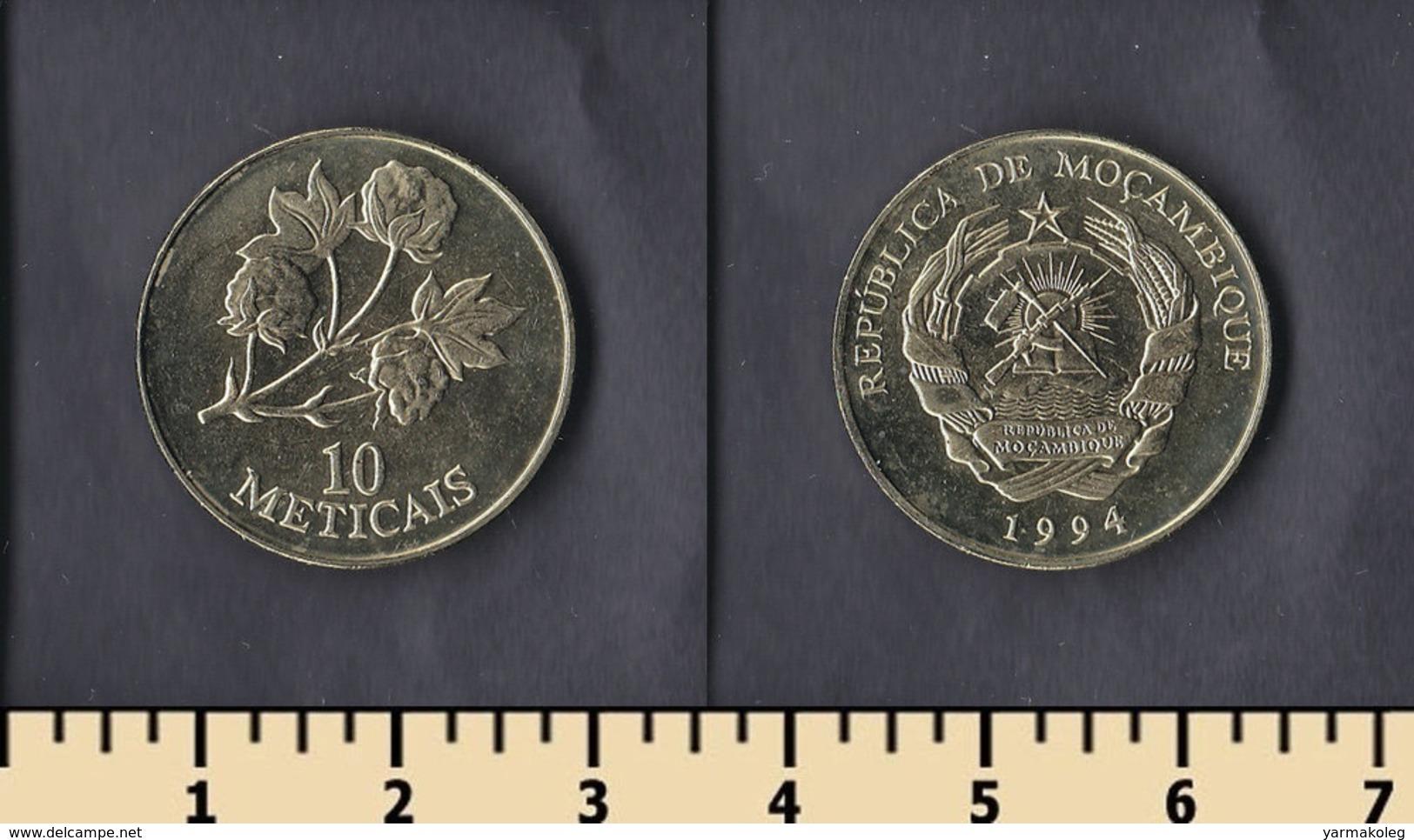Mozambique 10 Meticais 1994 - Mozambique