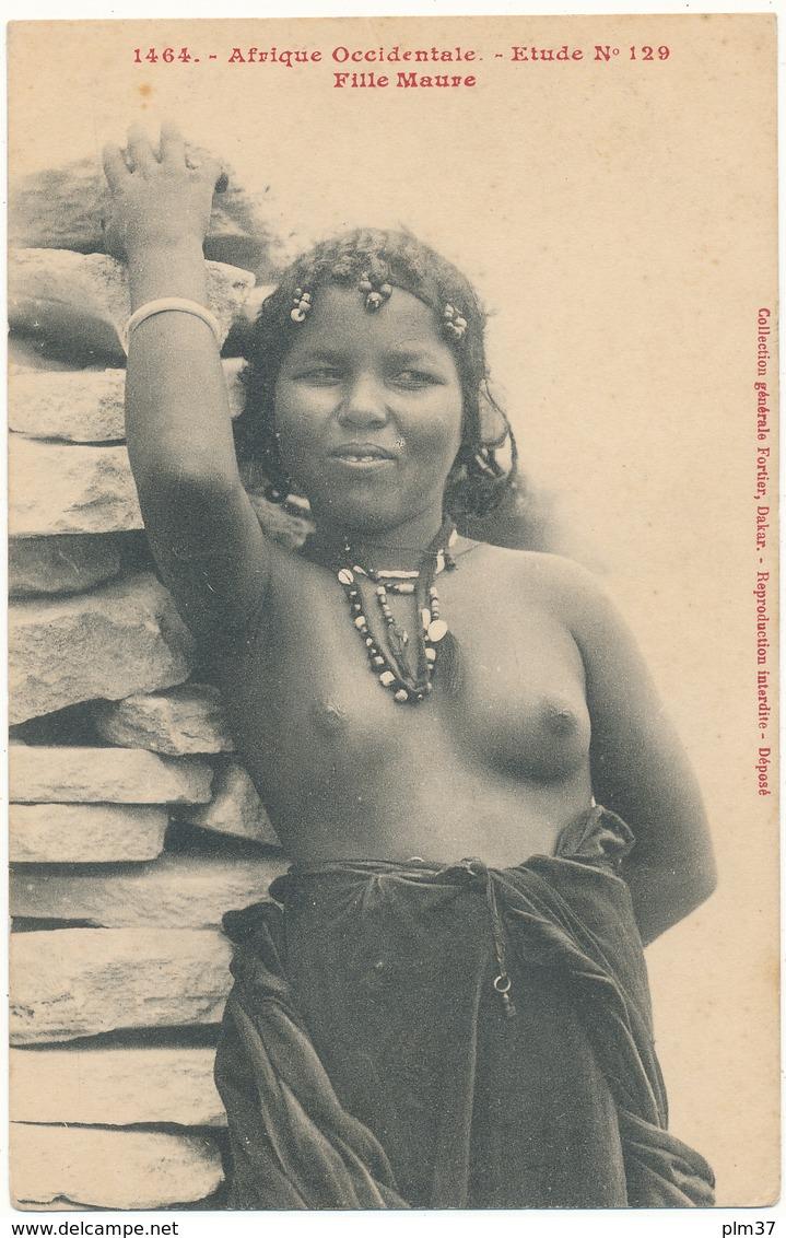 NU Ethnique - Afrique Occidentale, Fille Maure, Etude 129 - Fortier, Dakar - Afrique Du Sud, Est, Ouest