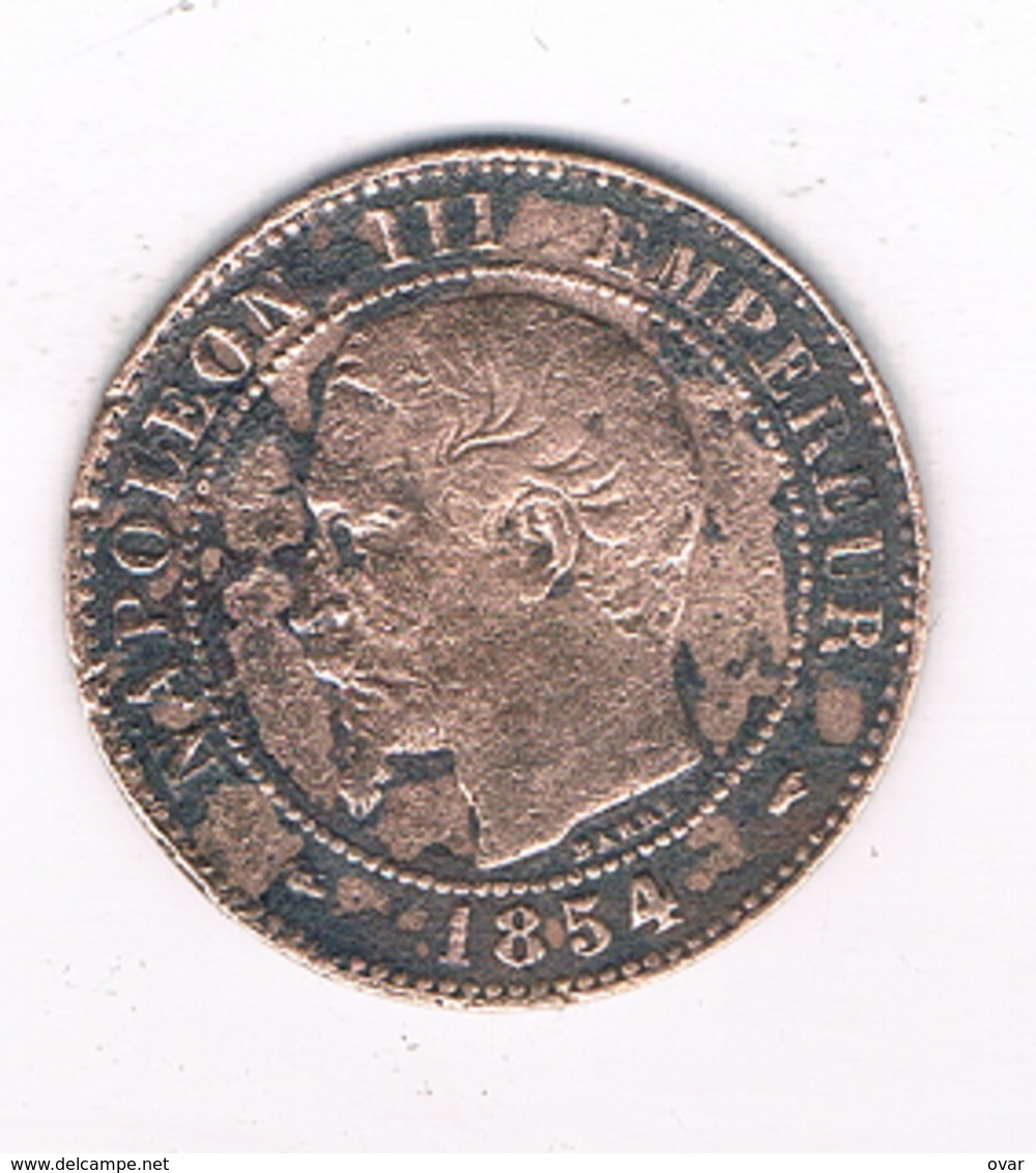2 CENTIMES 1854 A FRANKRIJK /4756/ - France