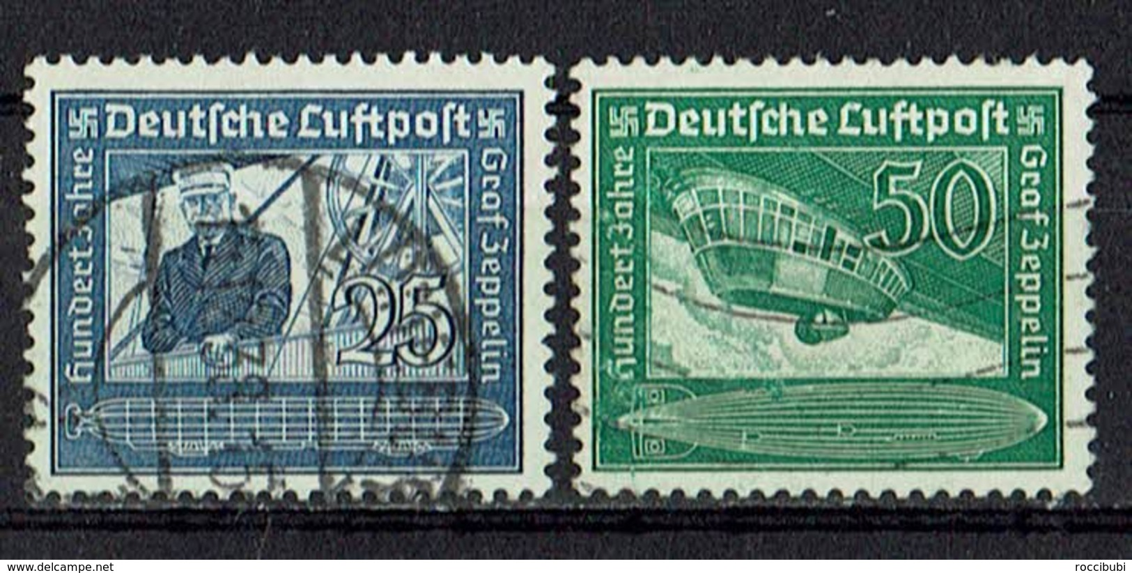 DR 1938 // Mi. 669/670 O - Deutschland