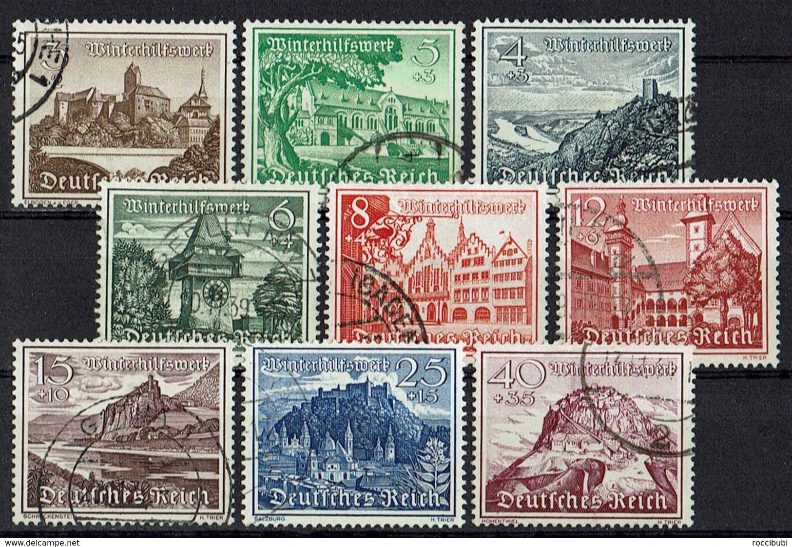 DR 1939 // Mi. 730/738 O - Deutschland