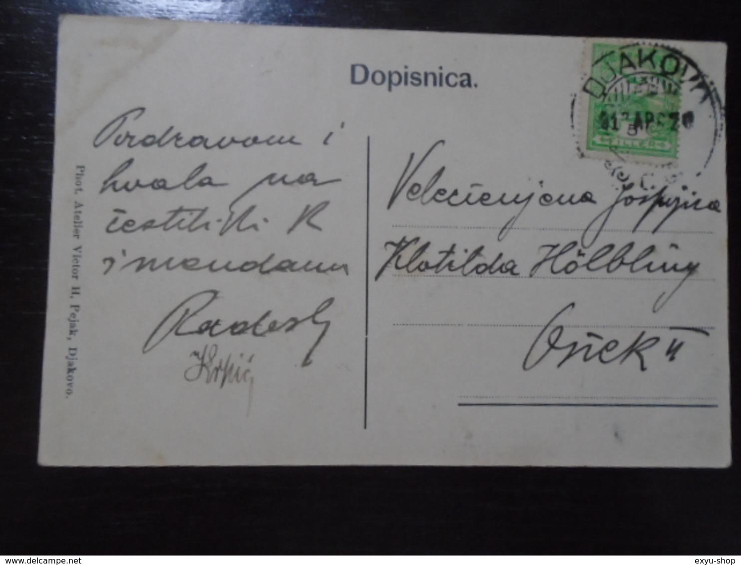 DJAKOVO - POZDRAV IZ VINOGORJA MANDICEVCA - VILA KRPIC VRANIKO - CROATIA - TRAVELLED - Croatia