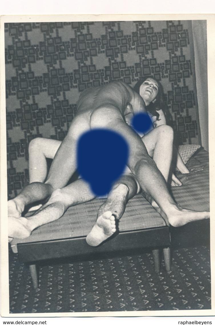 Snapshot érotique Sexe Sex Vintage Nu Nude Woman Man Femme Homme - Beauté Féminine (1941-1960)