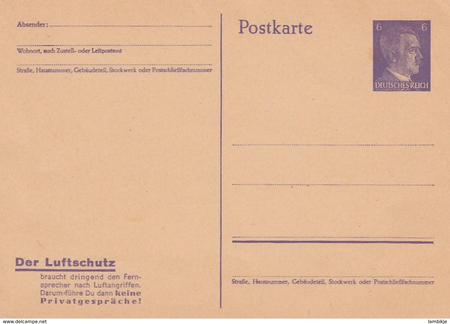 Deutsches Reich 3 Postkarten P312 - Deutschland