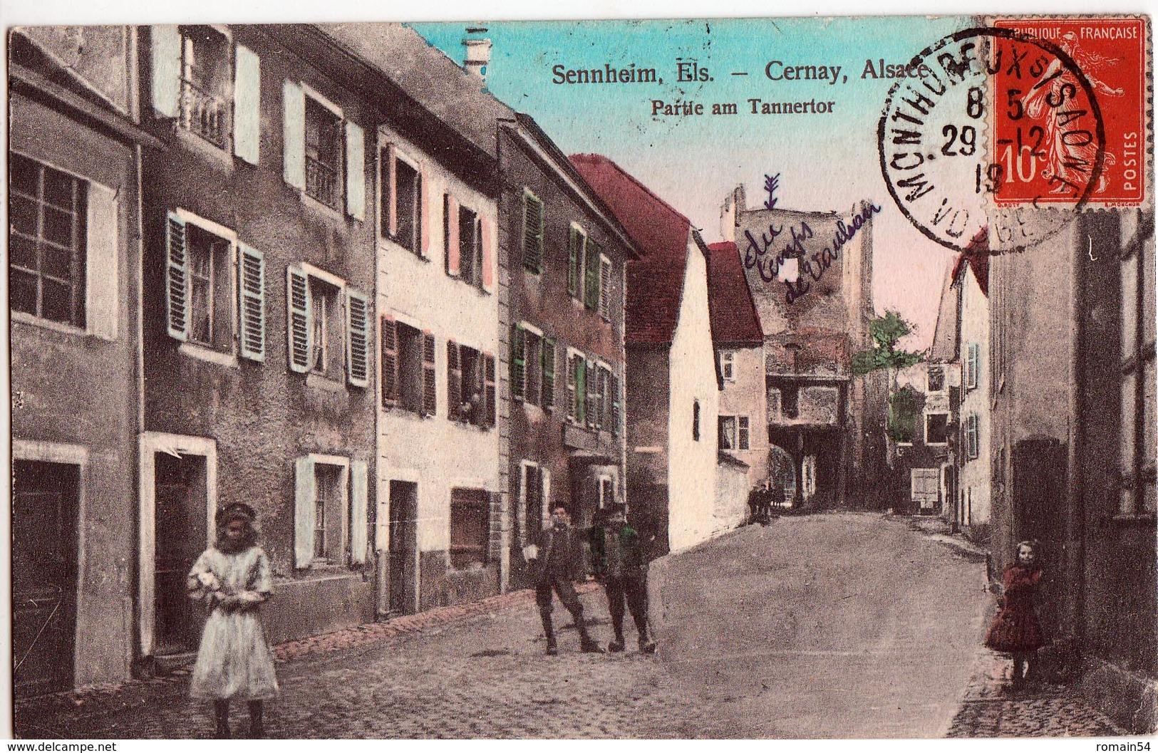 CERNAY-PARTIE AM TANNERTOR - Cernay