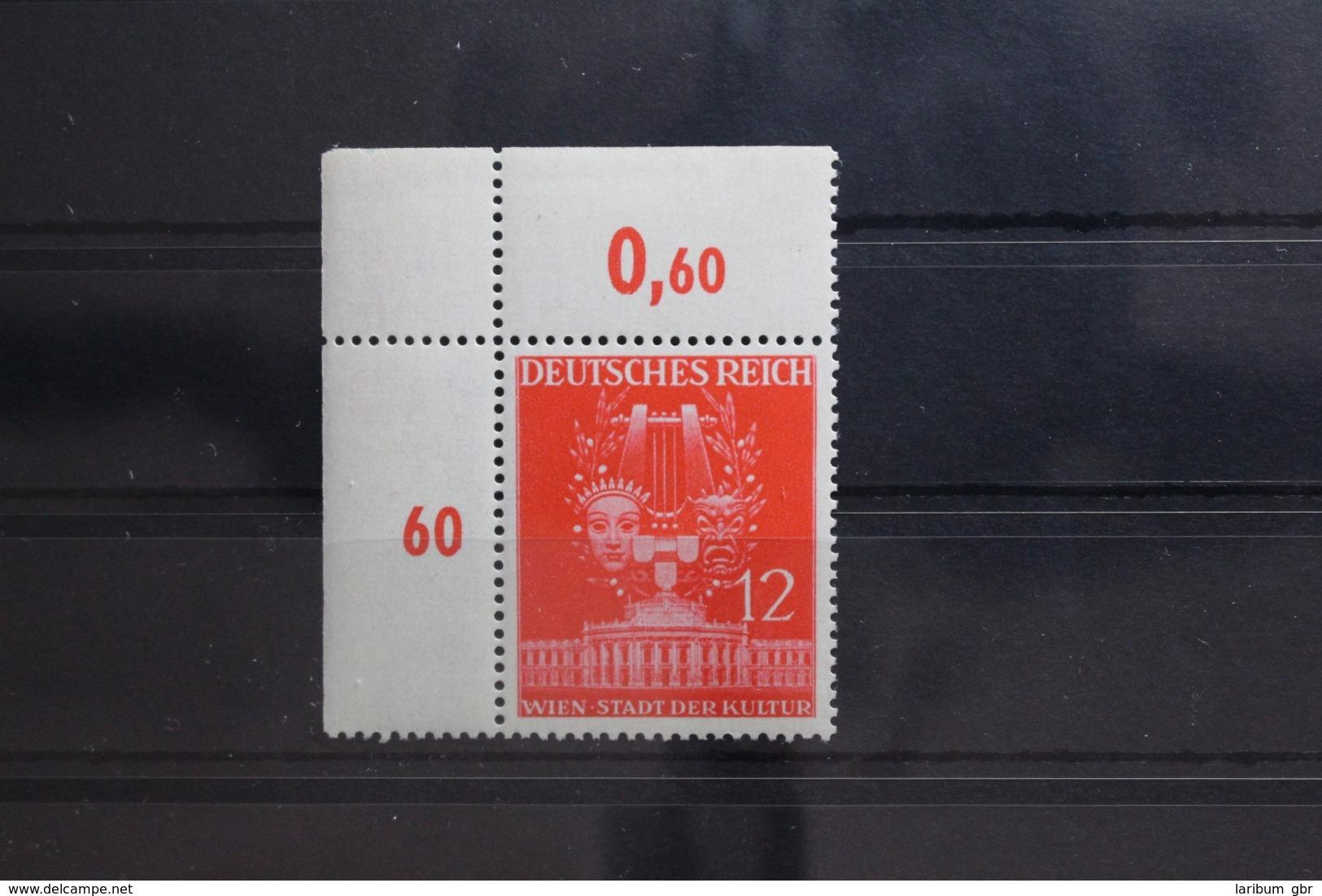 Deutsches Reich 770 ** Postfrisch Als Eckrand #SW427 - Deutschland