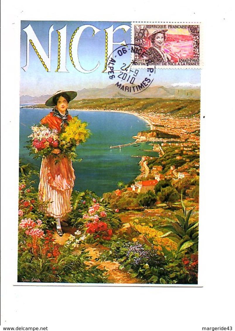 BELLE CARTE DE NICE 2010 - Storia Postale