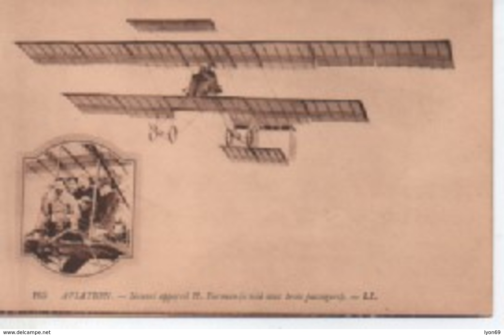 165 AVIATION   NOHVEL APPAREIL  H . HERMAN - Aviateurs