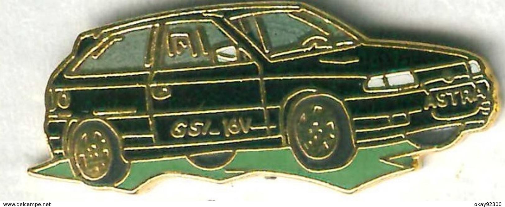 Pin's Voiture Automobile Opel Astra (signé Démons Et Merveilles) - Opel