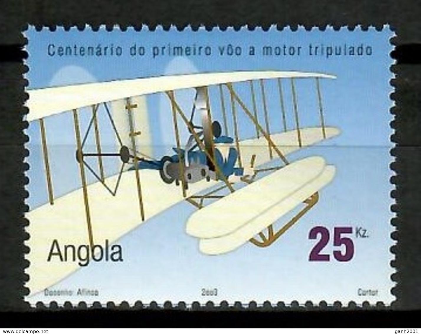 Angola 2003 / Aviation Airplanes MNH Aviacion Aviones Luftfahrt / Cu13603  18 - Avions