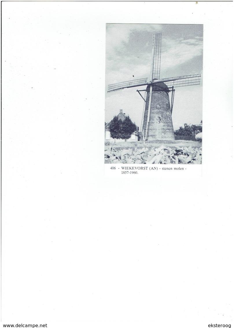Wiekevorst  406 - Stenen Molen - 1857-1960 - Heist-op-den-Berg