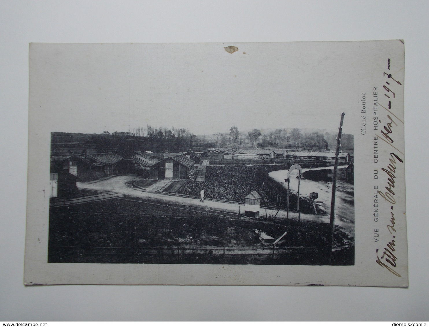 Carte Postale - VILLERS SUR COUDUN (60) - Vue Générale Du Centre Hospitalier - 1917 (2874) - Autres Communes