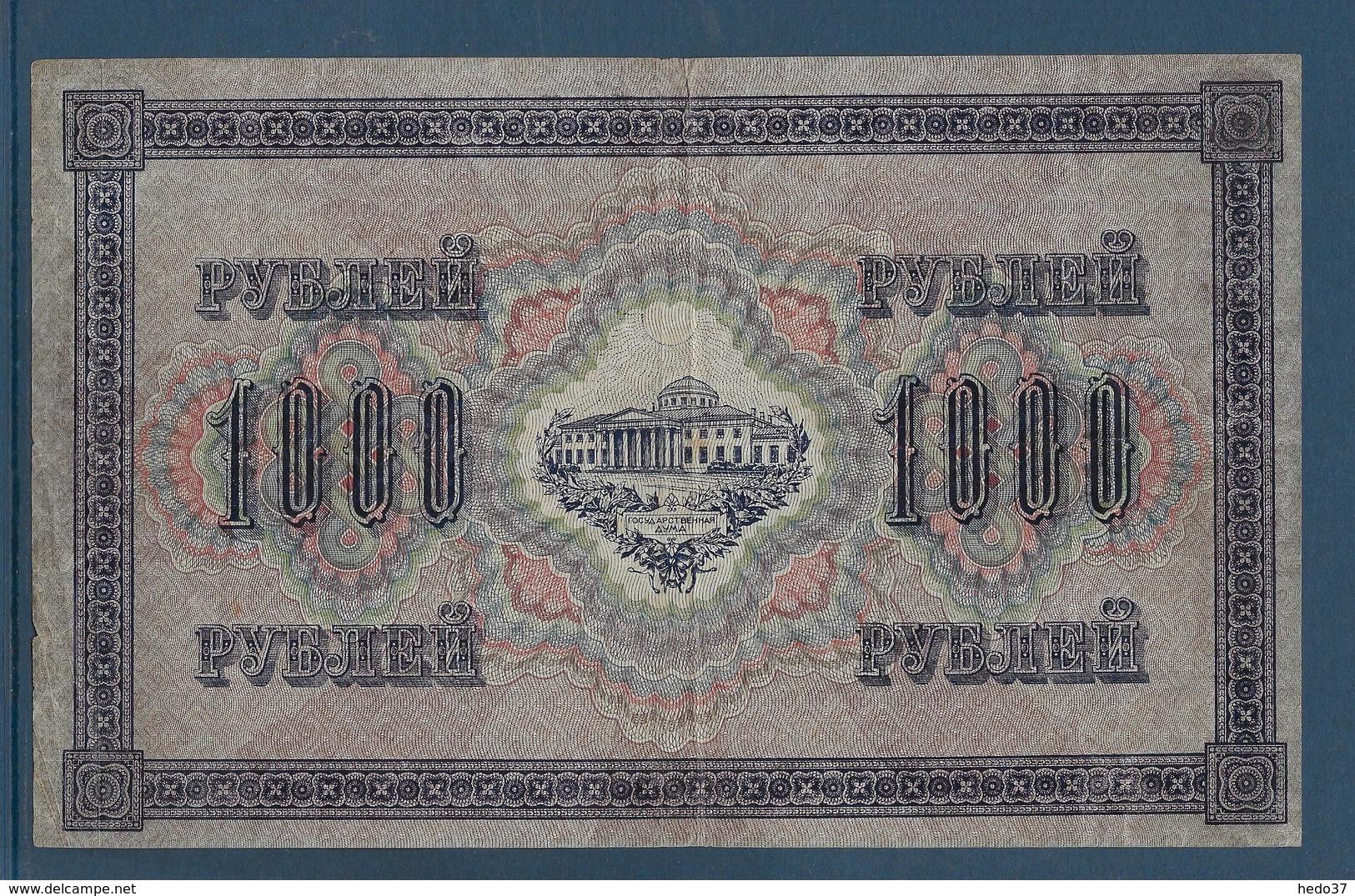 Russie - 1000 Roubles - Pick N°37 - TTB - Russie