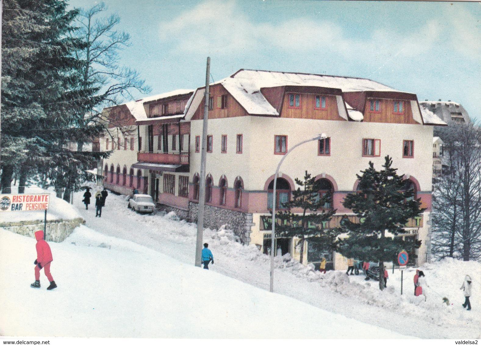 TERMINILLO - RIETI - ALBERGO STELLA ALPINA - INSEGNA PUBBLICITARIA BIRRA PRINZ BRAU - 1980 - Rieti
