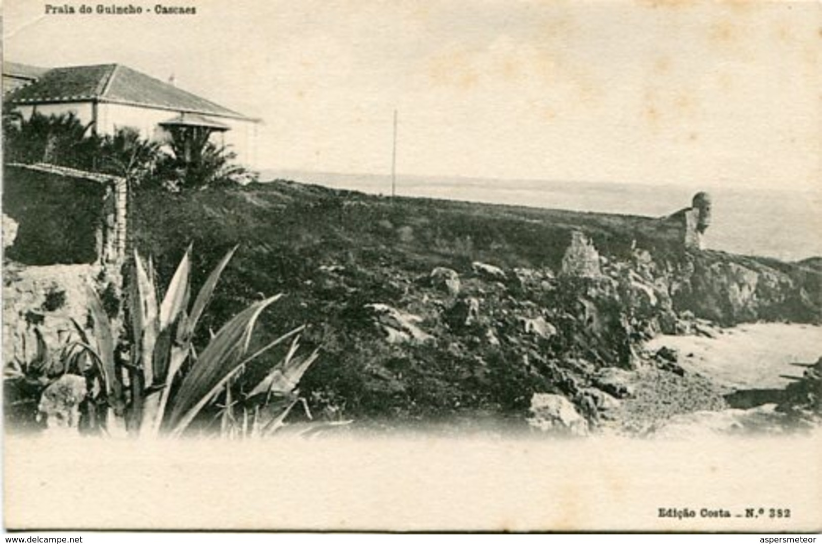 PRAIA DO GUINCHO - CASCAES. PORTUGAL POSTALE POSTAL CIRCA 1920's NON CIRCULEE -LILHU - Portugal