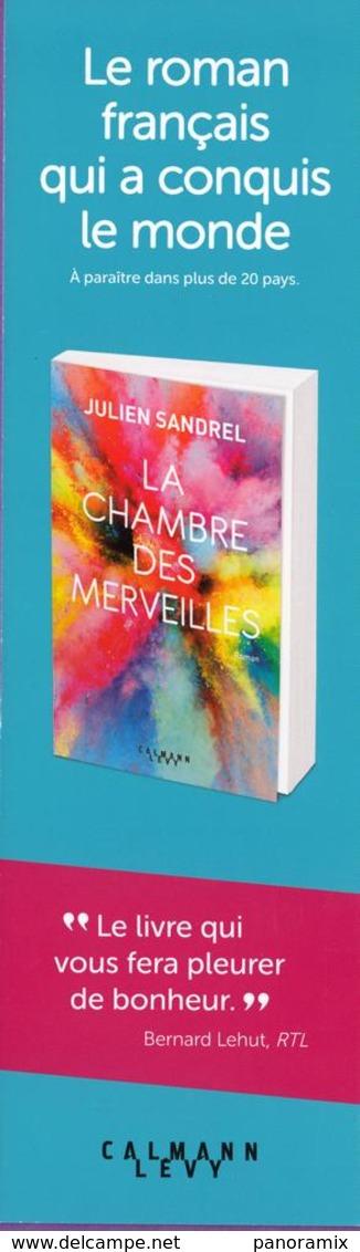Marque-page °° Calmann Levy - La Chambre Des Merveilles - J. Sandrel - 6x20 - Bladwijzers